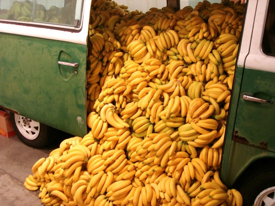 Бананы подвезли