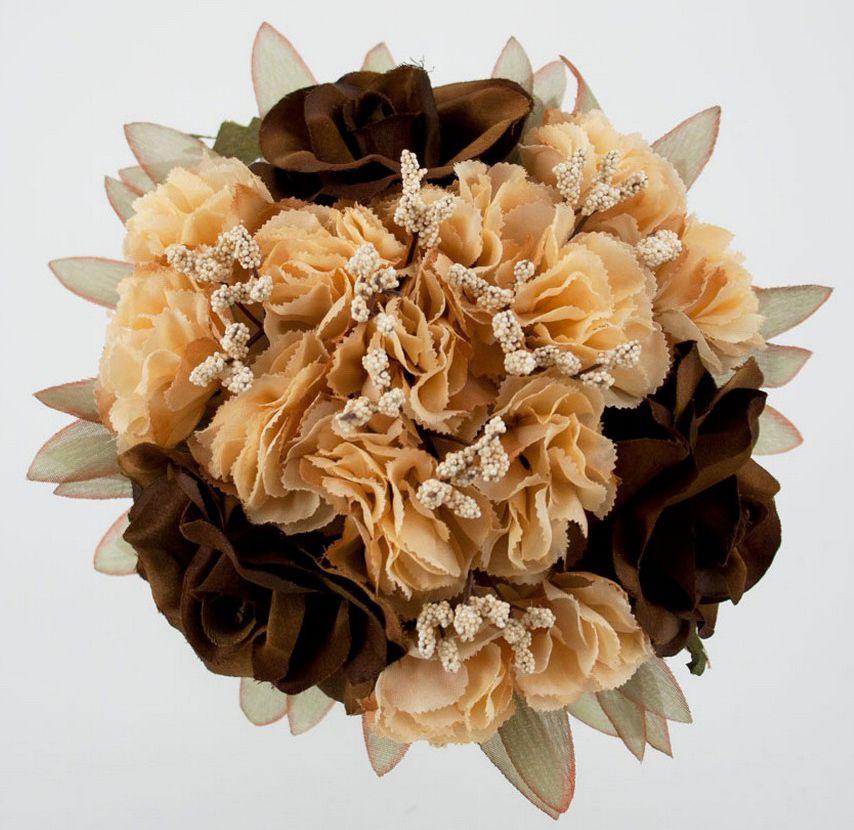 Фото букетов из искусственных цветов