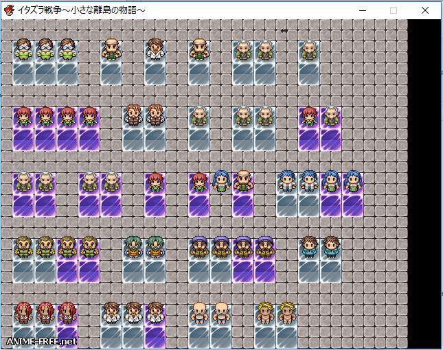 Itjazura War ~ The story of a small isolated island ~ / Itazura senso ~ chisana rito no monogatari ~ [2017] [Cen] [jRPG] [ENG] H-Game