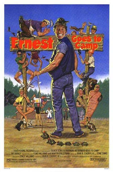 Эрнест едет в лагерь / Эрнест в лагере / Ernest Goes to Camp (Джон Р. Черри III / John R. Cherry III) [1987, США, Комедия, семейный, DVDRip] AVO (Юрий Живов)