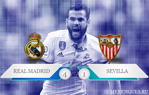 Real Madrid C.F.  - Sevilla FC 4:1