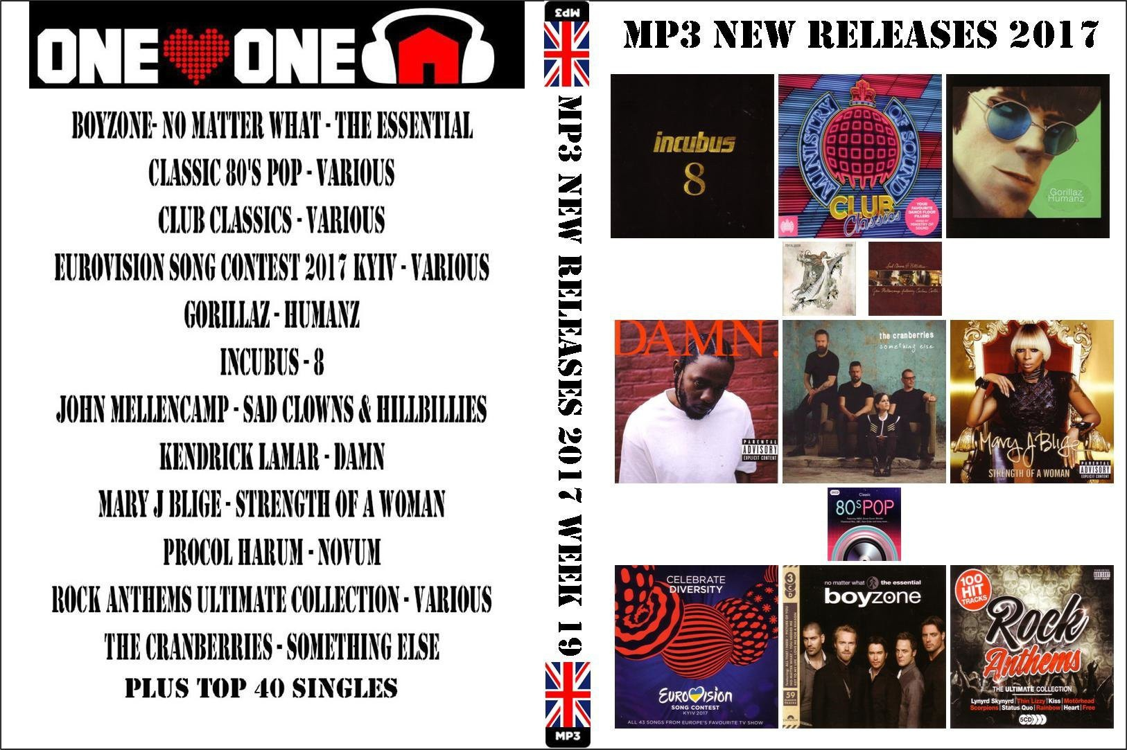 MP3 New Releases 2017 Week 19