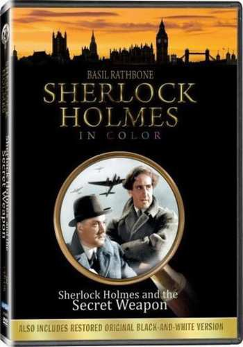 Шерлок Холмс и секретное оружие / Shеrlосk Hоlmеs аnd thе Sесrеt Wеароn (Рой Уильям Нилл) [1942, детектив, DVDRір] MVО