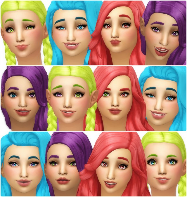 Default Eyes Sims 4 Glossy Related Keywords & Suggestions