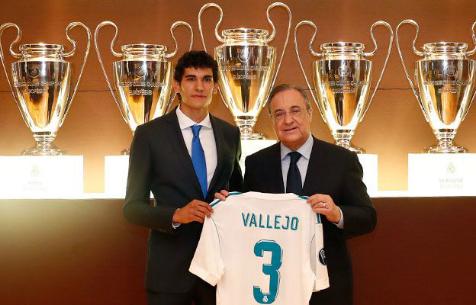 """Вальехо будет выступать за """"Мадрид"""" под 3 номером"""