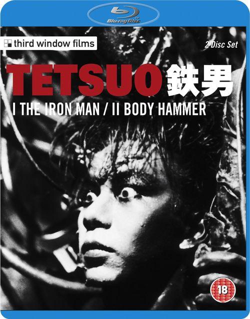 Тэцуо, железный человек / Тэтсуо / Тецуо / Тетсуо / Tetsuo: The Iron Man (Шинья Цукамото / Shinya Tsukamoto) [1989, Япония, японский киберпанк, боди-хоррор,BDRip 720p] Original Jpn + VO (Неизвестный) + 2x AVO (Дольский, Визгунов) + Sub Rus, Eng