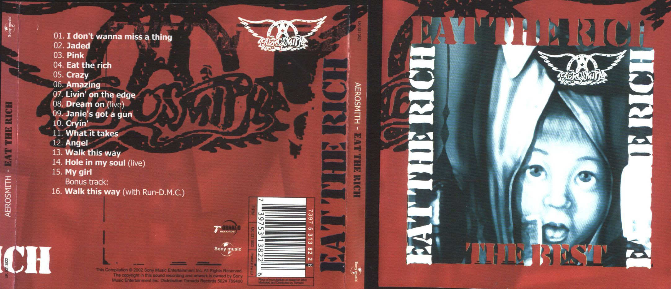 Aerosmith Eat The Rich Records Lps Vinyl And Cds