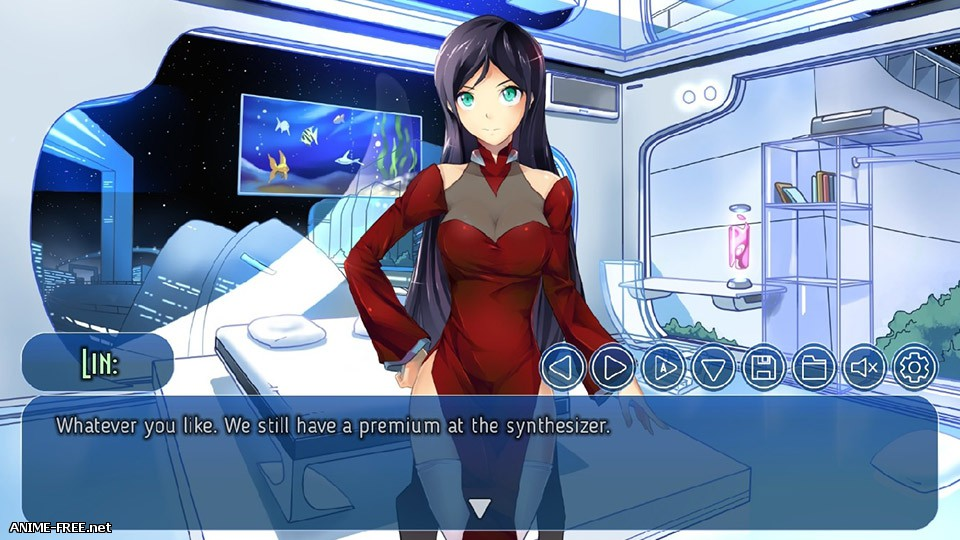 Crystal City: Stop The Earth! I'm Getting Off! / Хрустальный город [2017] [Uncen] [VN] [ENG,RUS] H-Game