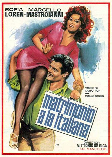 Брак по-итальянски 1964 - профессиональный