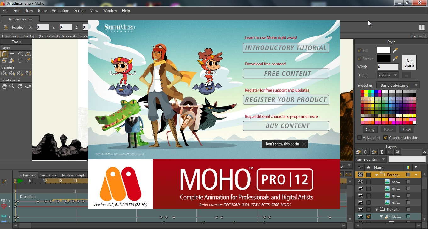 Moho Pro 12.2 Build 21774 (2017) Multi / Русский
