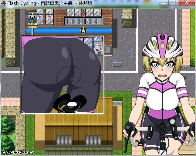 FlashCycling (Free Ride Exhibitionist RPG) [2017] [Cen] [jRPG] [ENG] H-Game