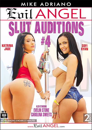 Evil Angel - Пробы шлюх 4 / Slut Auditions 4 (2017) WEB-DL 720p |