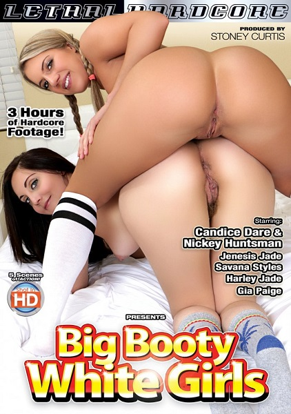 Big Booty White Girls / Большие задницы белых девочек (Stoney Curtis, Jerry Kovak / Lethal Hardcore) (Candice Dare, Gia Paige, Harley Jade, Jenesis Jade,..)