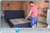 Мягкая каркасная кровать своими руками 67