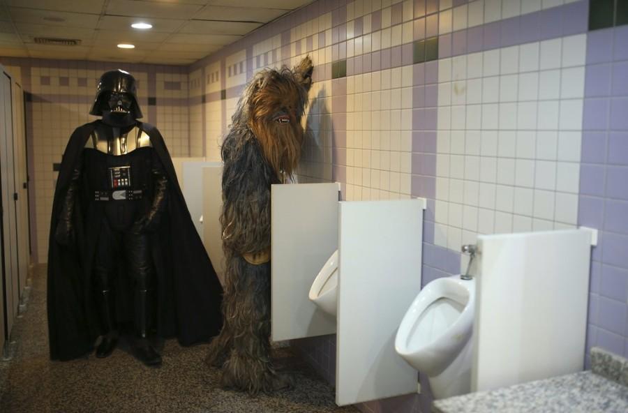 Встреча в туалете