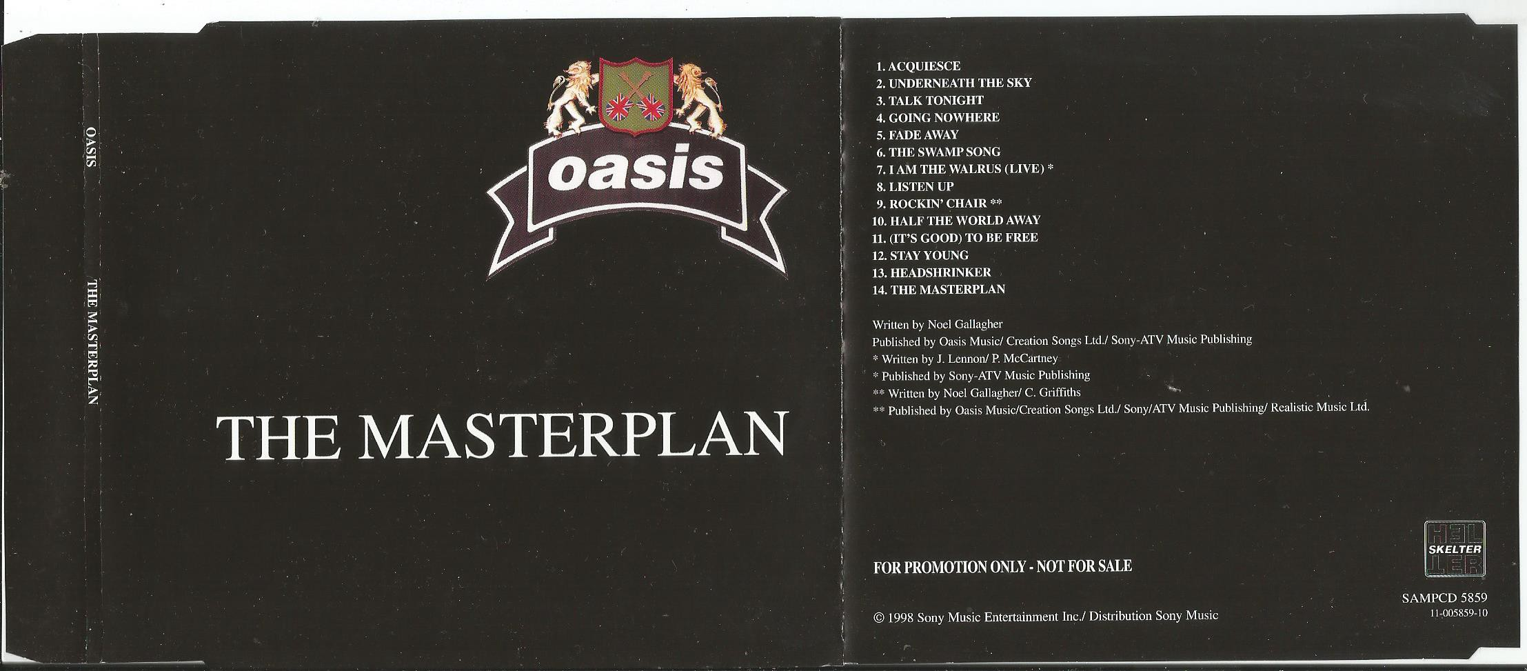 Oasis The Masterplan Records, LPs, Vinyl and CDs - MusicStack Oasis Masterplan