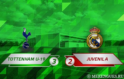 Tottenham Hotspur F.C. U-19 - Real Madrid Juvenil A 3:2