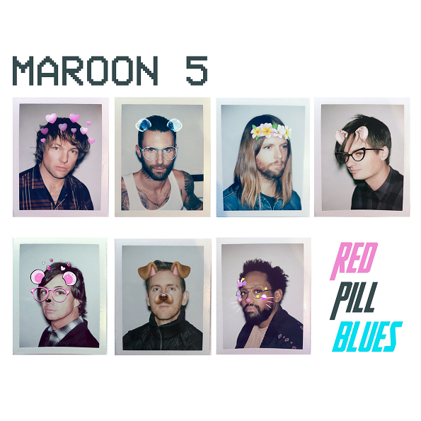 Maroon 5 - Red Pill Blues [Japanese Deluxe Edition] (2017) MP3