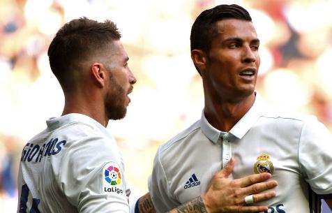 Роналду остался недоволен словами С. Рамоса в недавнем интервью