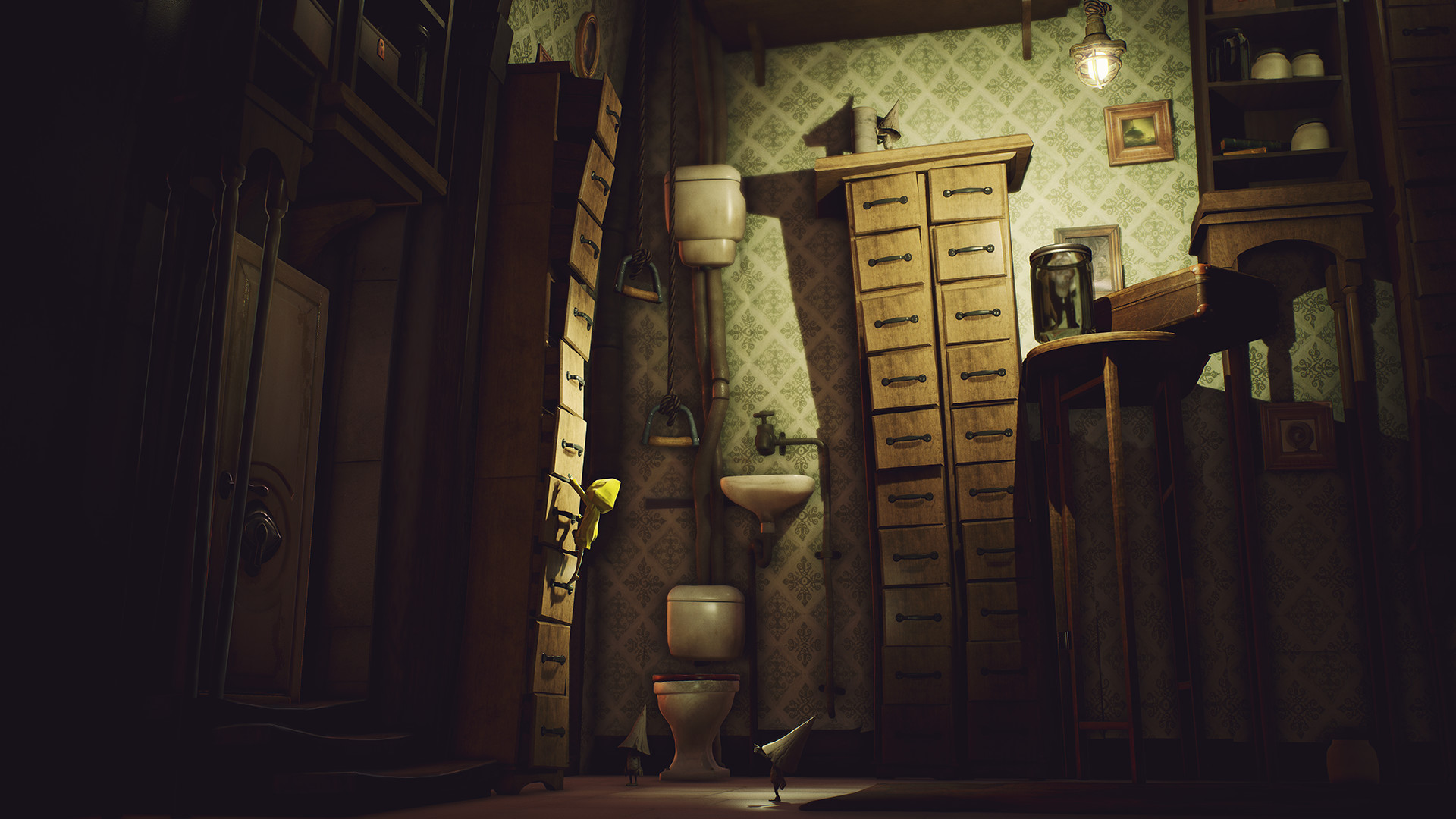Little Nightmares - Secrets of The Maw Chapter 1-2 (2017) PC   RePack от xatab