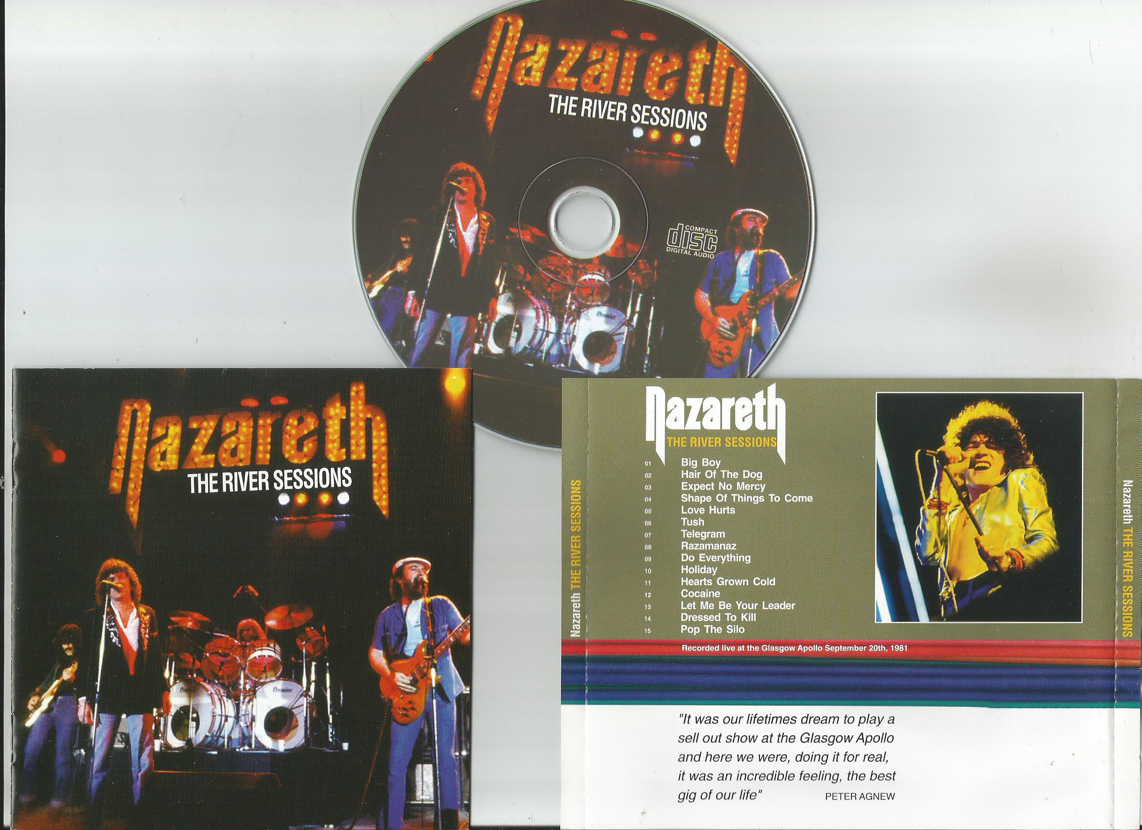 Nazareth Records Lps Vinyl And Cds Musicstack