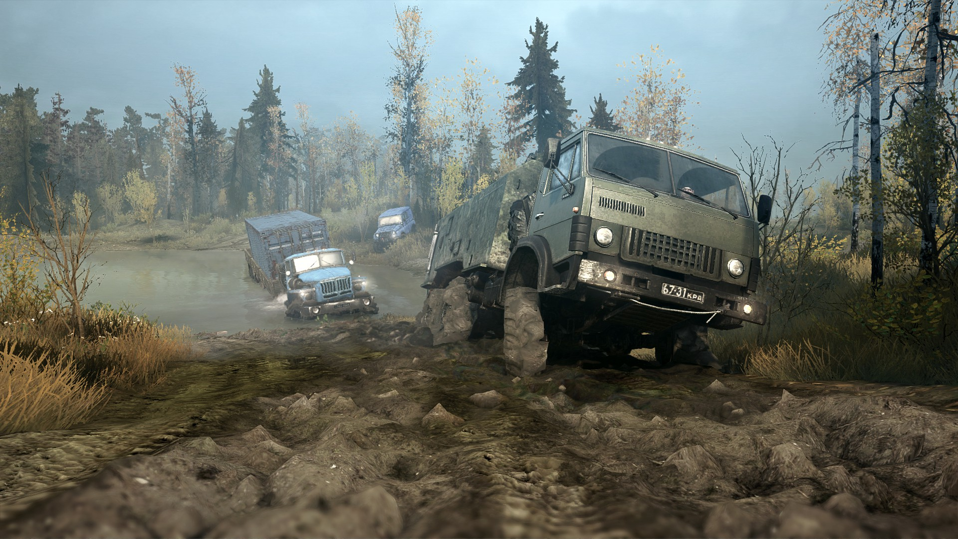 Spintires: MudRunner [Update 1] (2017) PC | RePack от xatab