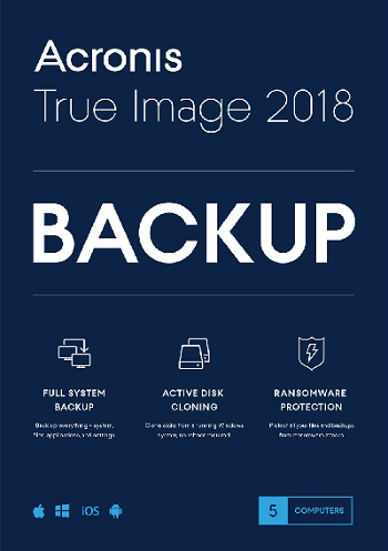Acronis True Image 2018 22.5.1 Build 12510 Final + BootCD