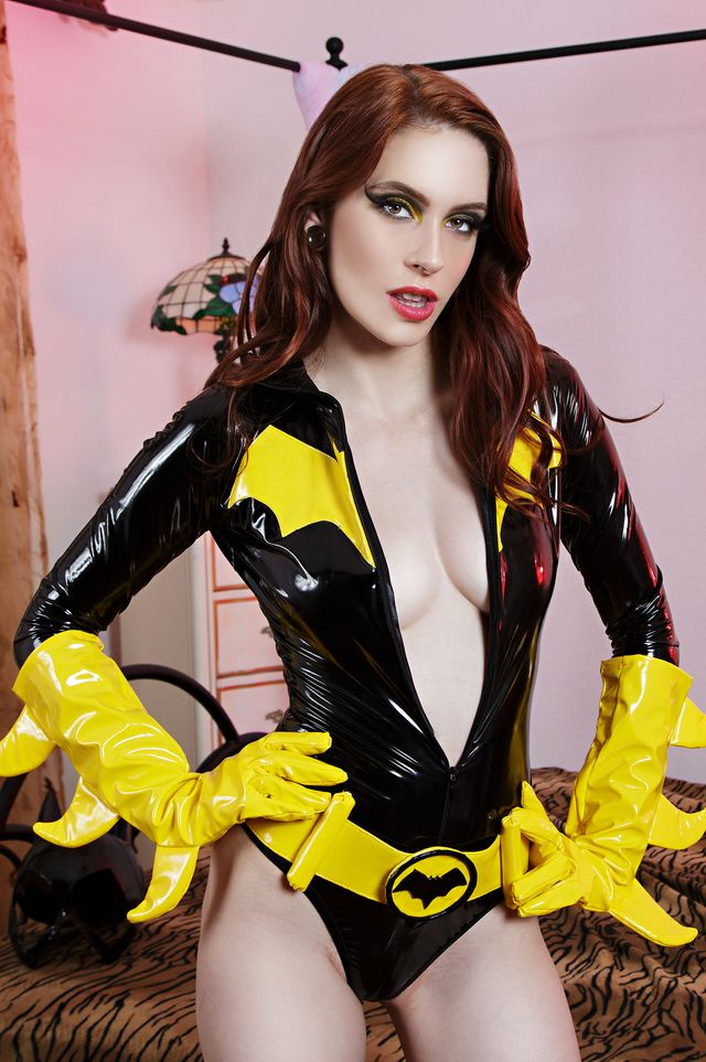 [vrcosplayx.com] Anna Deville (Batgirl A XXX Parody / 323787) [2017 г., POV, Blowjob, Redhead, 180, Superhero, Doggystyle, Comic, Parody, Fetish, VR, VR Porn, Cosplay, Virtual Reality, 1920p] [Oculus Rift / Vive]