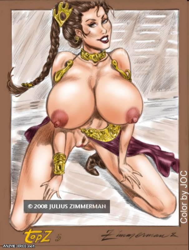 Julius Zimmerman (Part 1) | художник Юлиус Циммерман (часть 1) [Uncen] [JPG,GIF] Hentai ART