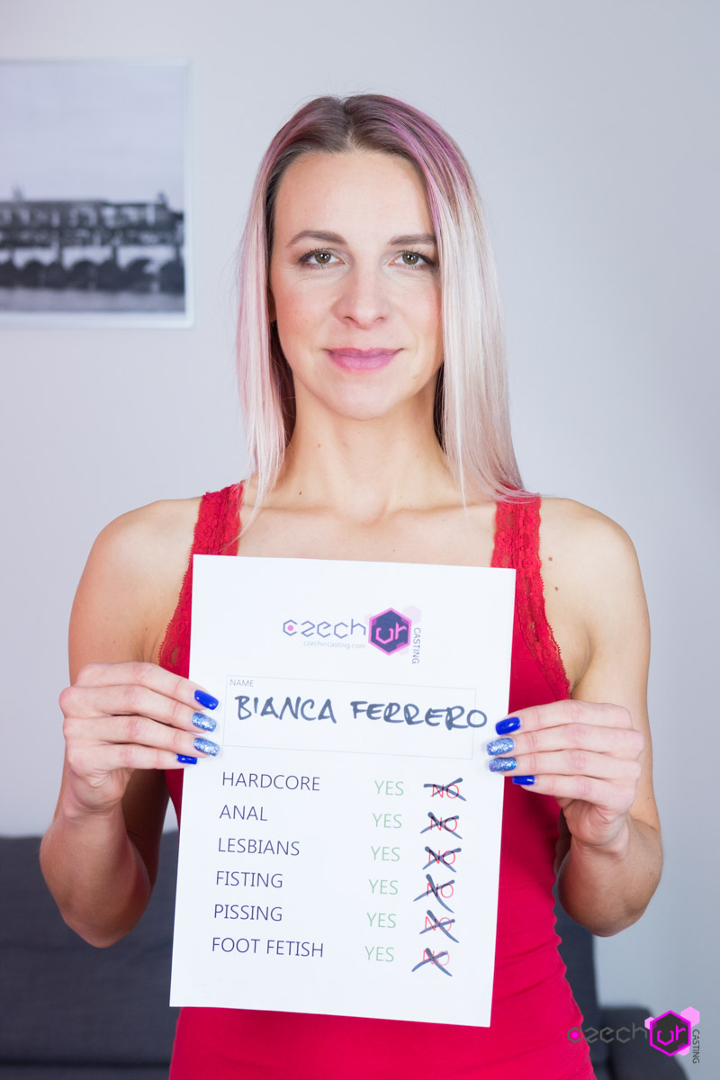 [CzechVRCasting.com / CzechVR.com] Bianca Ferrero (Czech VR Casting 103 - VR Newbie's Creampie) [2017 г., Anal, Creampie, Hardcore, Blowjob, Casting, POV, Solo, Toy, Gaping, All sex, Virtual Reality, VR] [SideBySide, 1920p] [Oculus Rift / Vive]