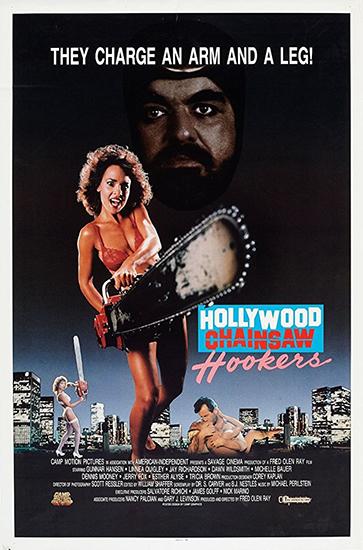 Голливудские шлюхи с бензопилами / Hollywood Chainsaw Hookers (1988) HDRip от Portablius | L1
