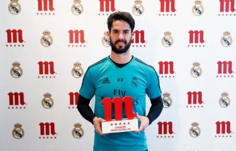 """Иско - лучший игрок """"Мадрида"""" в ноябре"""