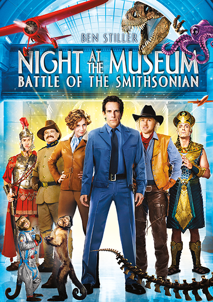 Ночь в музее 2 / Night at the Museum: Battle of the Smithsonian (2009) WEB-DL 1080p | D, A | Open Matte