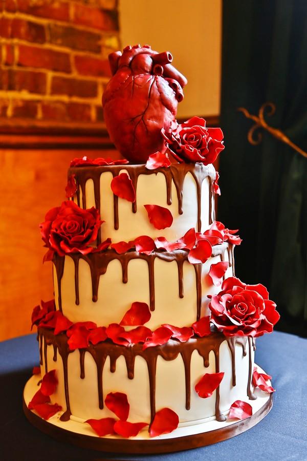 Сердечный тортик