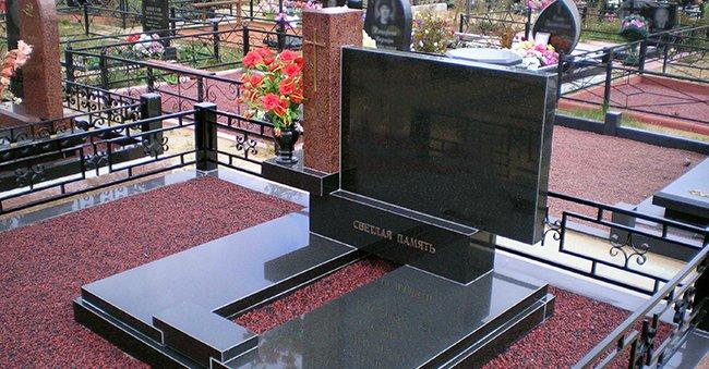 Как устанавливать памятники и надгробия самому