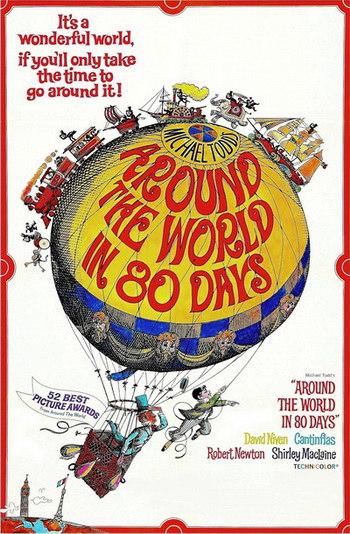 Вокруг Света за 80 дней / Around the World in 80 Days (1956) WEBRip [H.264/1080p]