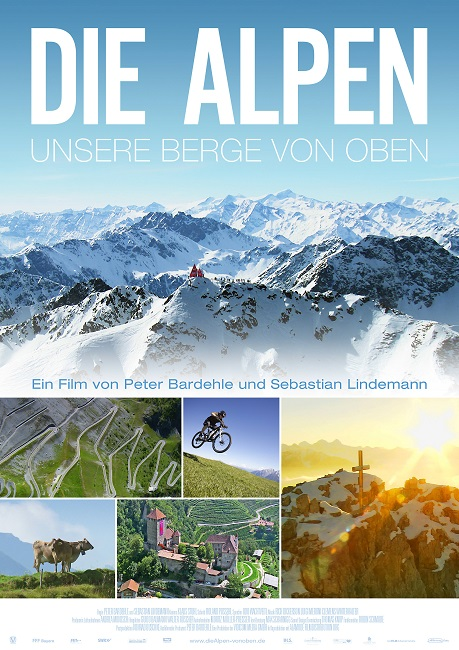 Альпы с высоты птичьего полёта / Die Alpen: Unsere Berge von oben (2013) BDRemux 1080p | Sub