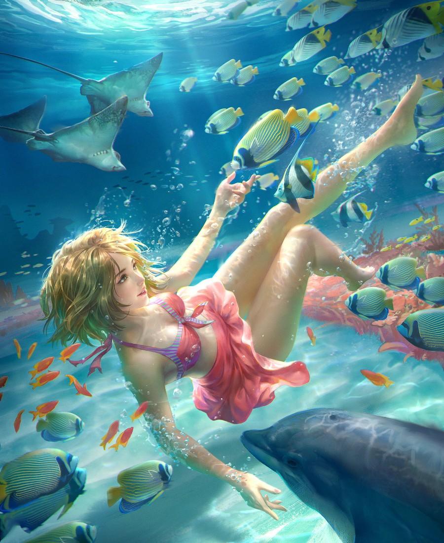 Подводный арт