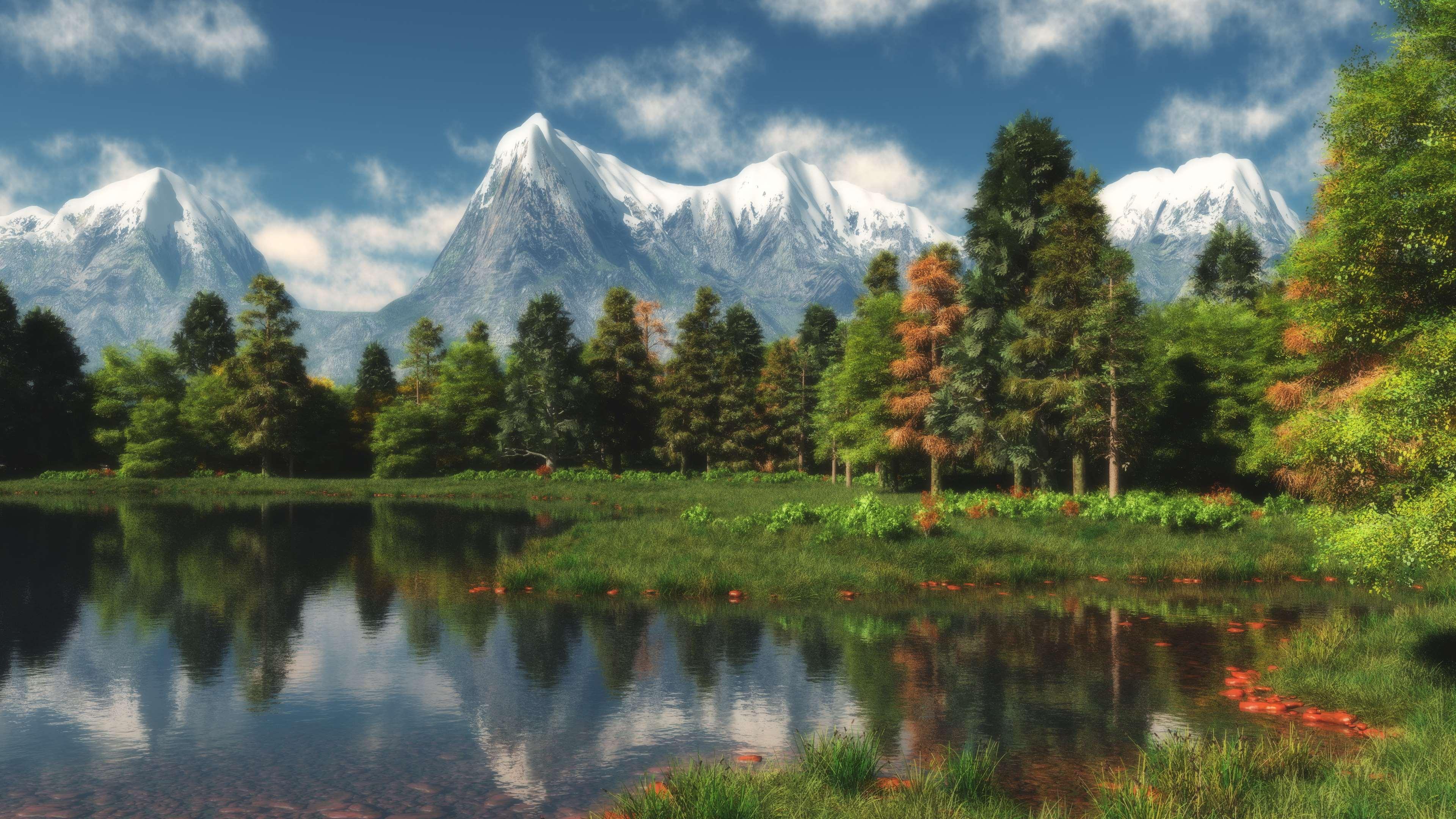 Обои - Mountain Photo Landscapes [3840x2160] [50 шт.] (2018) JPG
