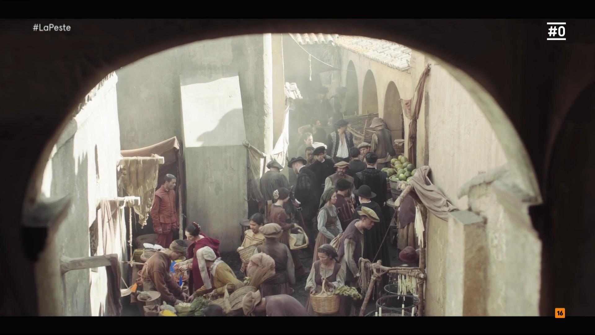Чума / La Peste [01x01-02 из 06] (2018) HDTVRip 1080p