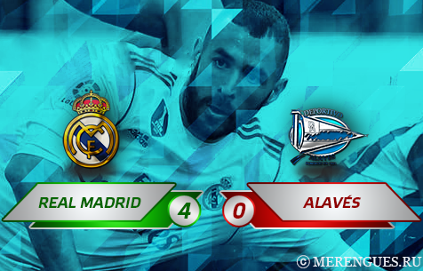 Real Madrid C.F. - Deportivo Alavés S.A.D. 4:0