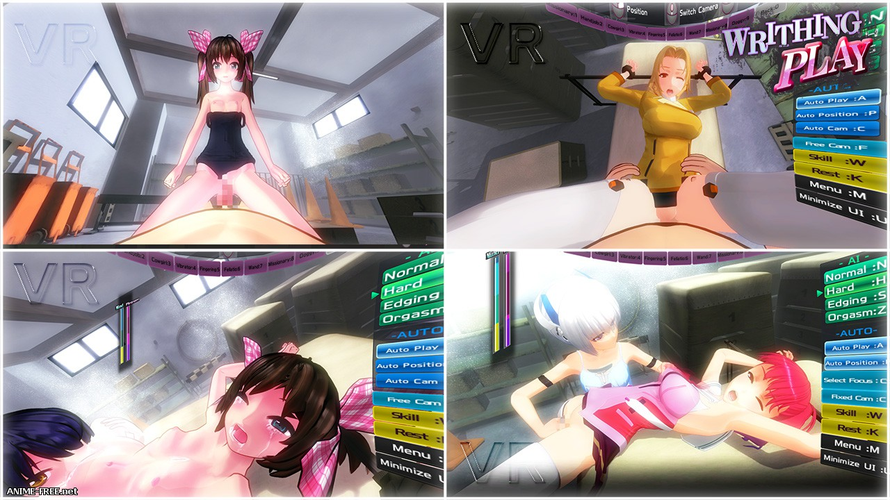 WRITHING PLAY [2015] [Cen] [Animation, 3DCG, VR] [ENG] H-Game