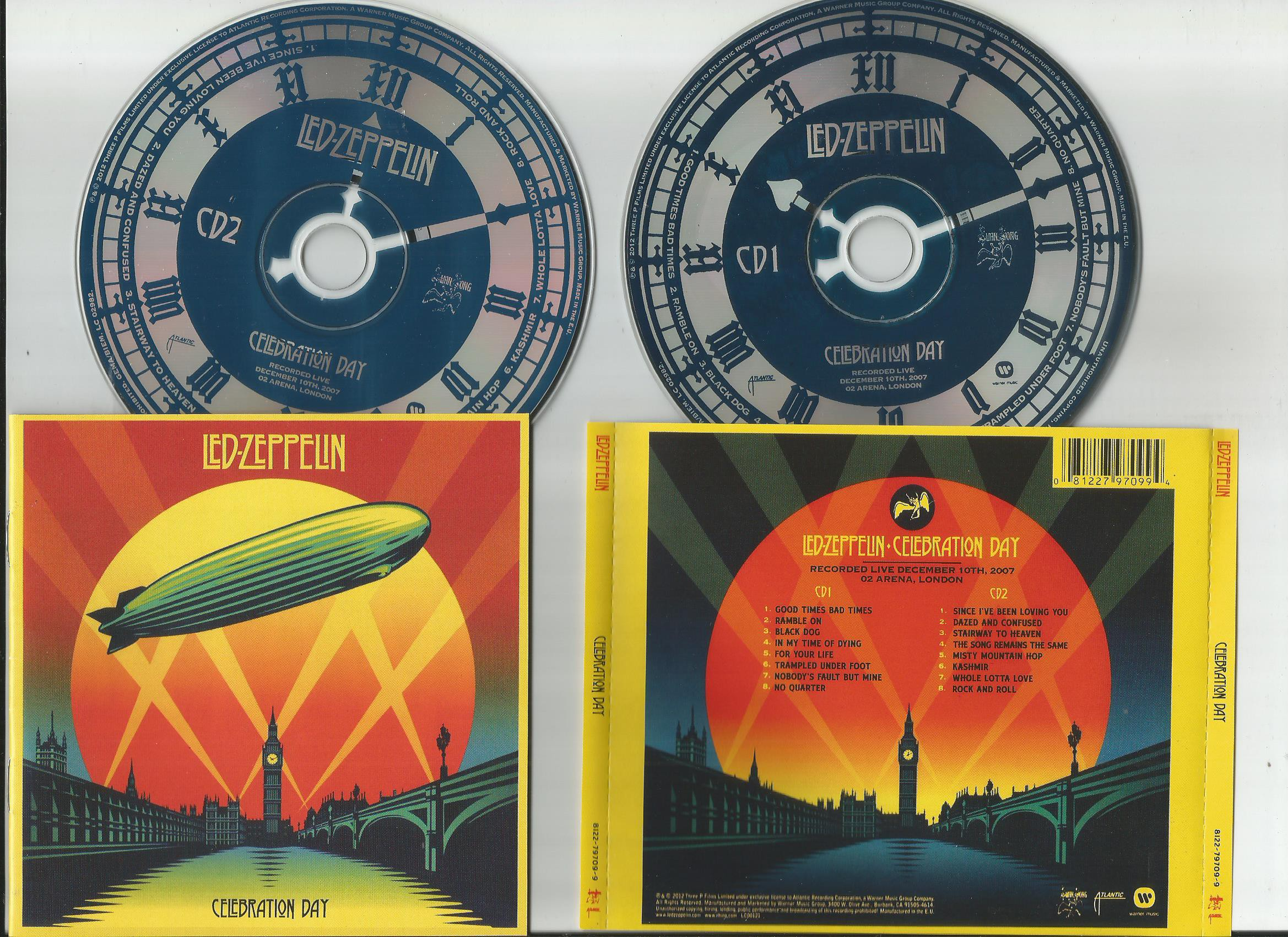 Led Zeppelin Celebration Day Records Lps Vinyl And Cds