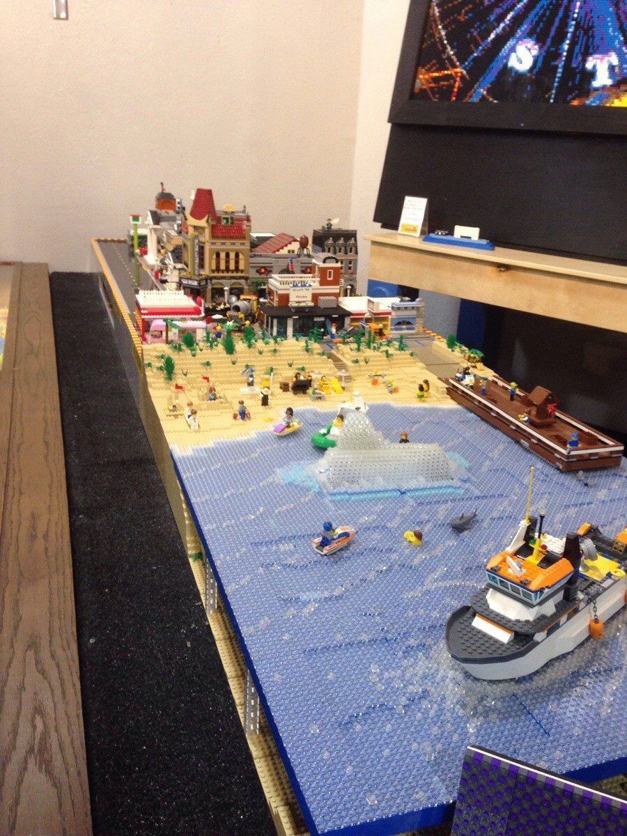 Курортный лего городок