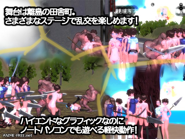 Orgy Assault Simulator 2017 [2017] [Cen] [Action, 3D, Fighting] [JAP] H-Game