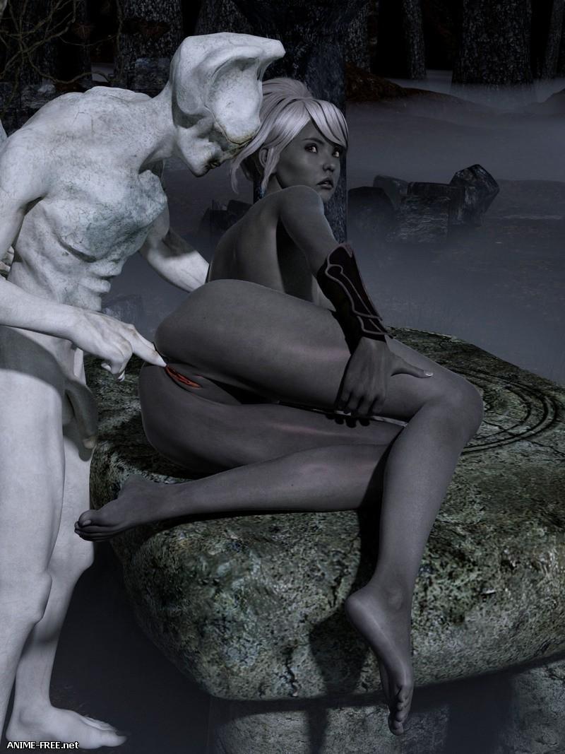 Hibbli3D Collection - Коллекция порно комиксов [Uncen] [3DCG] [ENG] Porn Comics