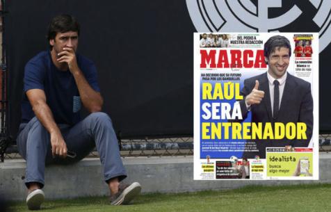 """Рауль возглавит одну из молодежных команд """"Мадрида"""""""