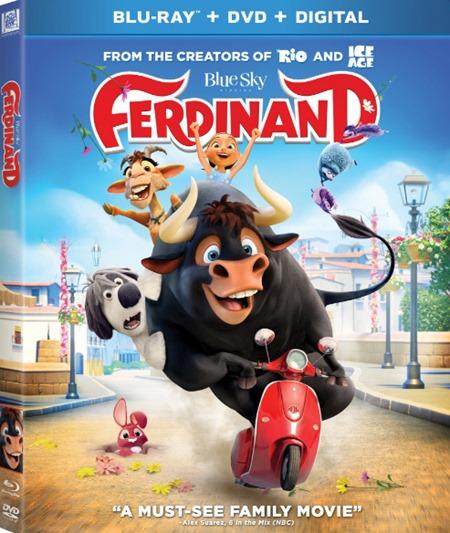 Фердинанд / Ferdinand (2017) BDRip [H.264/1080p-LQ]