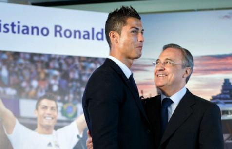 """Перес: """"Роналду не просил об уходе из """"Мадрида"""""""