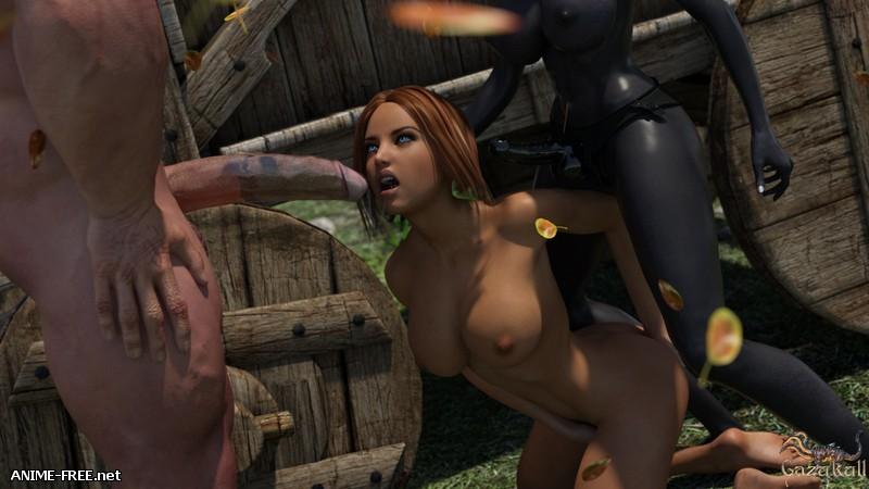 Gazukull - Anal Forest [Uncen] [3DCG] [ENG] Porn Comics